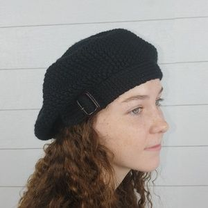 J. Crew Knitted Beret Wool Hat